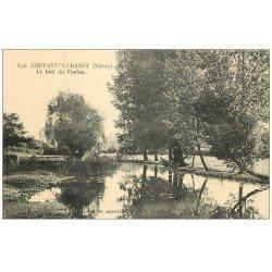 carte postale ancienne 58 CHEVANNES-CHANGY. Le Bief du Foulon