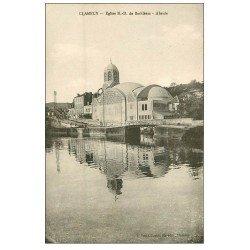 carte postale ancienne 58 CLAMECY. Eglise Notre-Dame de Bethléem