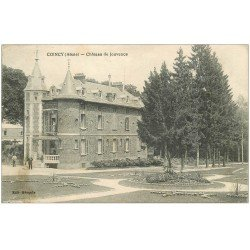 carte postale ancienne 02 COINCY. Château de Jouvence 1917