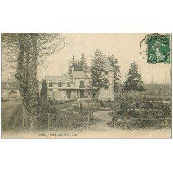 carte postale ancienne 58 COSNE-SUR-LOIRE. Château de la Motte 1908