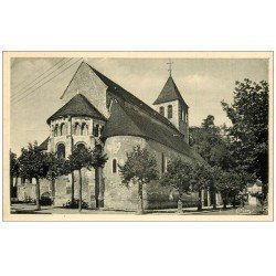 carte postale ancienne 58 COSNE-SUR-LOIRE. Eglise Saint-Agnan. Carte Photo