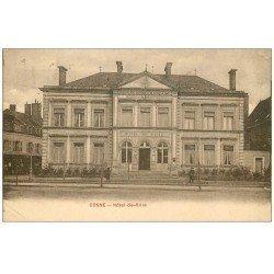 carte postale ancienne 58 COSNE-SUR-LOIRE. Hôtel de Ville