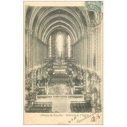 carte postale ancienne 13 ABBAYE DE FRIGOLET. L'Eglise. Carte Pionnière 1905 (minuscule coupure 1mm)...