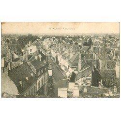 carte postale ancienne 58 COSNE-SUR-LOIRE. Vue générale 1915