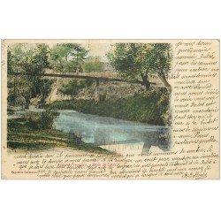 carte postale ancienne 13 AIX-EN-PROVENCE. Bois de l'Arc 1904
