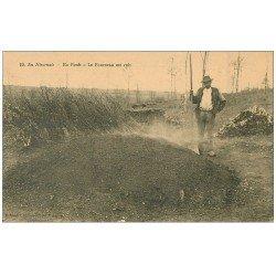 58 EN NIVERNAIS. En Forêt le Fourneau est cuit. Ouvrier Paysan brûleur pour charbon de bois. Très vieux Métiers