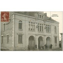 carte postale ancienne 02 CORBENY. Hôtel de Ville 1930