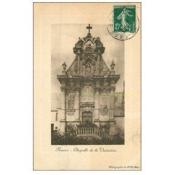 carte postale ancienne 58 NEVERS. Chapelle de la Visitation 1911