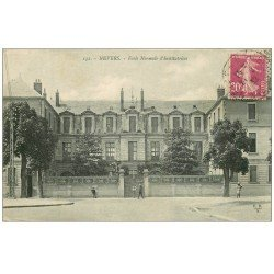 carte postale ancienne 58 NEVERS. Ecole Normale d'Institutrices 1932