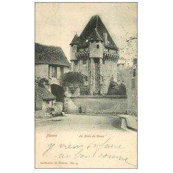 carte postale ancienne 58 NEVERS. La Porte du Croux 1904