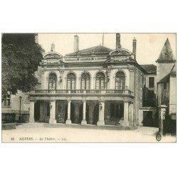 carte postale ancienne 58 NEVERS. Le Théâtre 1918