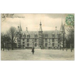 carte postale ancienne 58 NEVERS. Palais Ducal 1907. Guerot