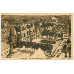 carte postale ancienne 58 NEVERS. Palais Ducal n°25