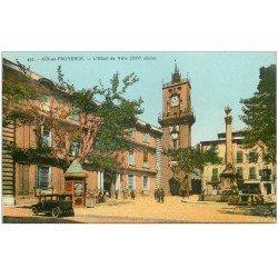 carte postale ancienne 13 AIX-EN-PROVENCE. Hôtel de Ville