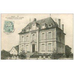 carte postale ancienne 58 SAINT-HILAIRE. Le Château 1906