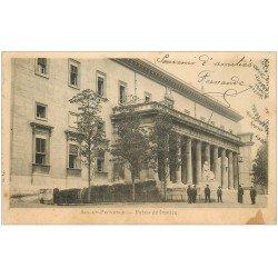carte postale ancienne 13 AIX-EN-PROVENCE. Palais de Justice vers 1905
