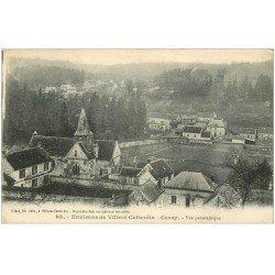 carte postale ancienne 02 CORCY. Vue du Village