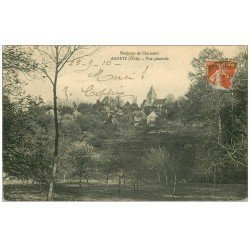 carte postale ancienne 60 AGNETZ. Le Village 1910