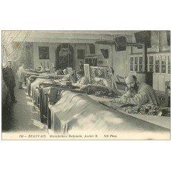 carte postale ancienne 60 BEAUVAIS. Manufacture Nationale. Atelier B