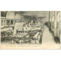carte postale ancienne 60 BEAUVAIS. Manufacture Nationale. Atelier DD