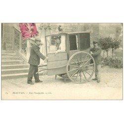 carte postale ancienne 60 BEAUVAIS. Une Vinaigrette. Transport 1915