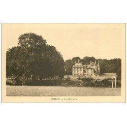 carte postale ancienne 60 BORAN. Le Château 1934