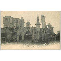 carte postale ancienne 60 BOULOGNE-LA-GRASSE. Château Guerre près Roye