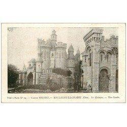 carte postale ancienne 60 BOULOGNE-LA-GRASSE. Le Château Guerre 1914-18