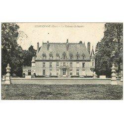 carte postale ancienne 60 BOURSONNE. Le Château 1922