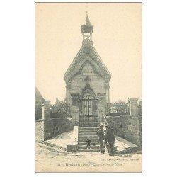 carte postale ancienne 60 BRETEUIL. Chapelle Notre-Dame animation