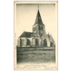 carte postale ancienne 60 BREUIL-LE-SEC. L'Eglise 1903