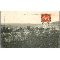 carte postale ancienne 60 BURY. Le Village 1910