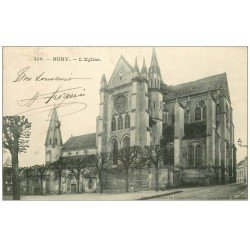 carte postale ancienne 60 BURY. L'Eglise 1906