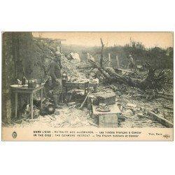 carte postale ancienne 60 CANDOR. Les Soldats Français Guerre 1914-18