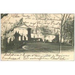 carte postale ancienne 60 CHATEAU DE MELLO 1903