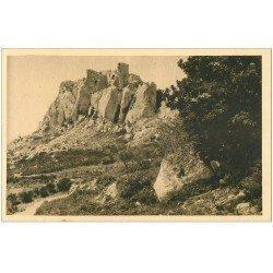 carte postale ancienne 13 Les BAUX. Ruines du Château