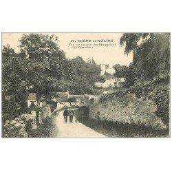 carte postale ancienne 60 CREPY-EN-VALOIS. La Carandon et Remparts