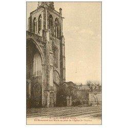 carte postale ancienne 60 CREPY-EN-VALOIS. Monument aux Morts