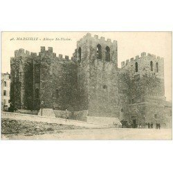 carte postale ancienne 13 MARSEILLE. Abbaye Saint-Victor