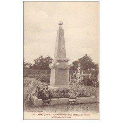 carte postale ancienne 60 MERU. Monument aux Enfants Morts