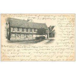 carte postale ancienne 60 NOYON. Maison du XV Siècle. 1902