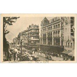 carte postale ancienne 13 MARSEILLE. Cannebière 1939