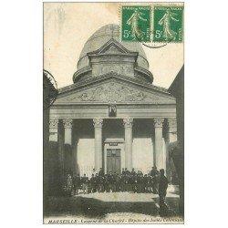 carte postale ancienne 13 MARSEILLE. Caserne de la Charité. Dépôts des Isolés Coloniaux 1913