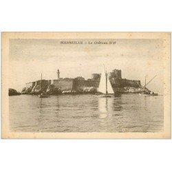 carte postale ancienne 13 MARSEILLE. Château d'If 1931