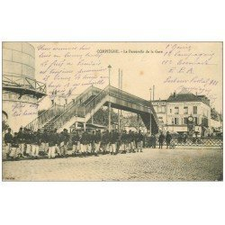 carte postale ancienne Superbe Lot 10 Cpa COMPIEGNE 60. Militaires Passerelle de la Gare, Champ de Courses, Pont etc...