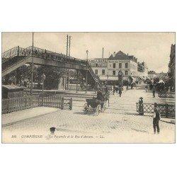 Superbe Lot 10 Cpa COMPIEGNE 60. Passerelle Rue Amiens, Pont Rue Solférino, Hôtel Rond-Royal, Porte Arsenal etc...