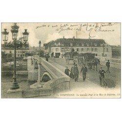 Superbe Lot 10 Cpa COMPIEGNE 60. Pont Rue Solférino, Parc, Zeppelin abbatu, Place Saint-Jacques, Etangs etc...