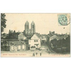 carte postale ancienne Superbe Lot 8 Cpa NOYON 60. Place République et Saint-Martin, Enterrement Aviateurs, Théâtre, Gare, Orme