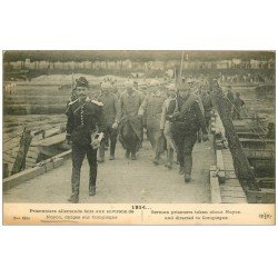 Superbe Lot 8 Cpa NOYON 60. Prisonniers Allemands, Place République, Rue Saint-Eloi et Boulevard de la République etc...