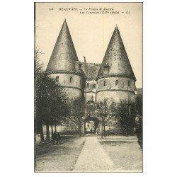 carte postale ancienne Lot 10 Cpa BEAUVAIS 60. La Gare, Rue Saint-Laurent, Thérain Saint-Louis, Anciens Murs etc...